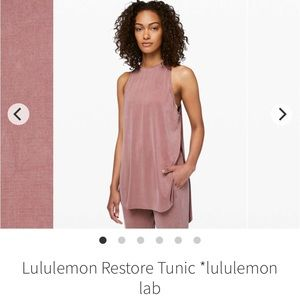 Lululemon Restore Tunic Tank